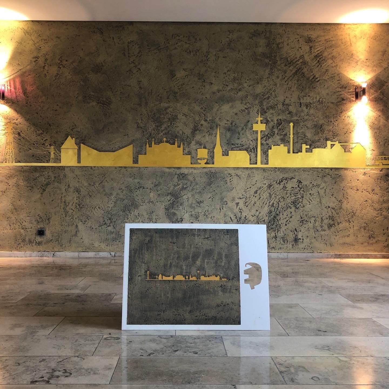 Kreative Wandgestaltung MyCity Stadtwerke Uelzen_Raumconcepts by Alexander Schubert