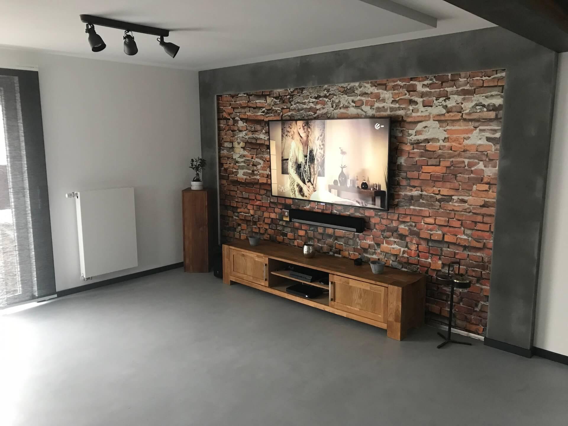 Individuelles Raumkonzept für das Wohnzimmer mit TV-Wand von Raumconcepts by Alexander Schubert
